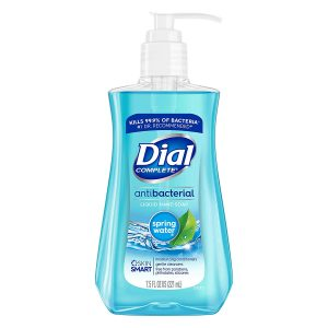 picture of Dial Antibacterial Liquid Hand Soap, Spring Water, 7.5 Fl Oz (Pack of 1)