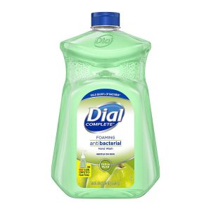 picture of Dial Complete Antibacterial Foaming Hand Soap, Fresh Pear, 52 Ounce Refill Sale