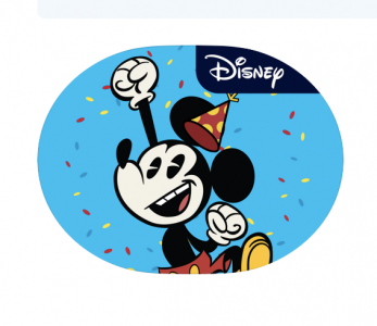 picture of Various Disney iMessage Stickers For Free