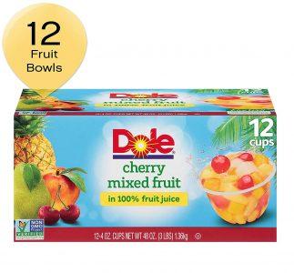picture of Dole Fruit Bowls 4ounce 12 Count Sale