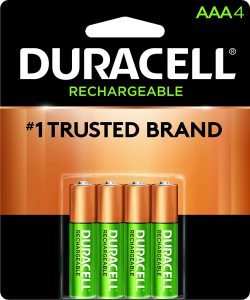 picture of Duracell Rechargeable AAA Batteries, 4ct, Sale