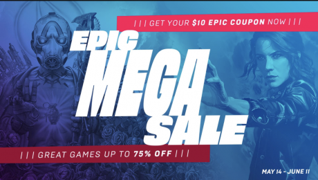 picture of Epic Games Mega Sale: Make Any Purchase, Get a Coupon