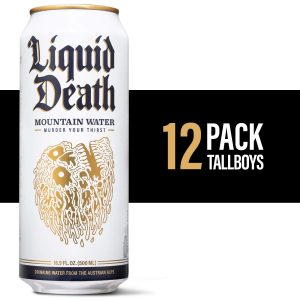 picture of Liquid Death Mountain Water, 16.9 oz. - 12-Pack