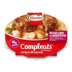 picture of Hormel Compleats Meatloaf & Gravy with Mashed Potatoes, 9 Ounce (Pack of 6) Sale