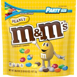 picture of M&M'S Peanut Chocolate Candy 38-oz Bag Sale