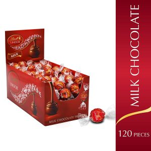 picture of Lindt Lindor Milk Chocolate Truffles, 120ct, Sale