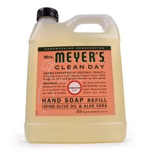 picture of Mrs. Meyers Liquid Hand Soap Refill, Geranium Scent 33ounce Sale
