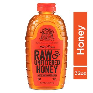 picture of Nature Nate's 100% Pure, Raw & Unfiltered Honey; 32oz. Squeeze Bottle Sale