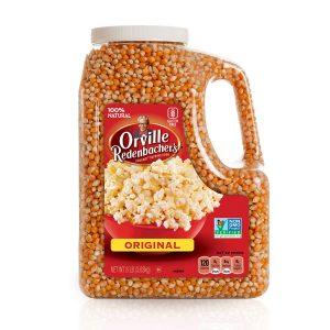 picture of Orville Redenbacher's Gourmet Popcorn Kernels, Original Yellow, 8 lb