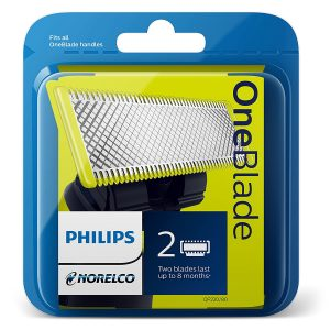 picture of Philips Norelco QP220/80 OneBlade Replacement Blades, 2ct, Sale