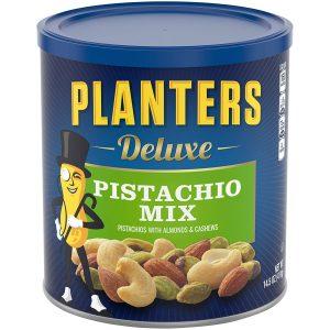 picture of PLANTERS Deluxe Pistachio Mix, 14.5 oz. Sale