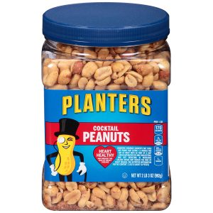 picture of Planters Salted Cocktail Peanuts 35-oz Jar Sale