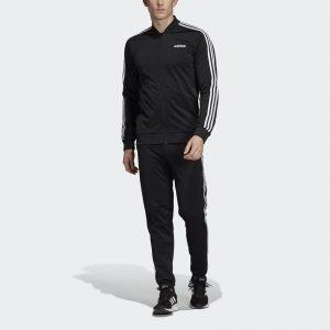 picture of adidas 3-Stripes Men's Track Suit (Black, White) Sale