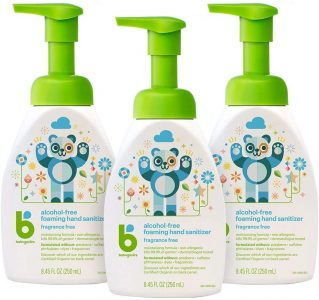 picture of Babyganics Alcohol-Free Foaming Hand Sanitizer, 8.45 oz, 3 Pack, Sale