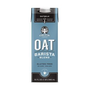 picture of Califia Farms - Oat Milk, Unsweetened Barista Blend, 32 Oz (Pack of 6) Sale