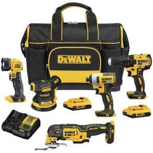 Dewalt 5 Tool 20 Volt Max Tool Combo Kit Sale 299 00 Buyvia