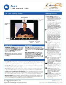 picture of Free Tips and Tricks Guide for Zoom Conferencing
