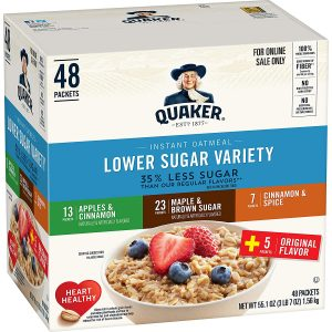 picture of Quaker Instant Variety Pack 48-ct Sale