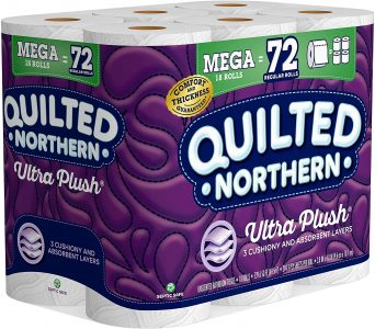 picture of Quilted Northern Ultra 18 Count, 3 Ply Bath Tissue