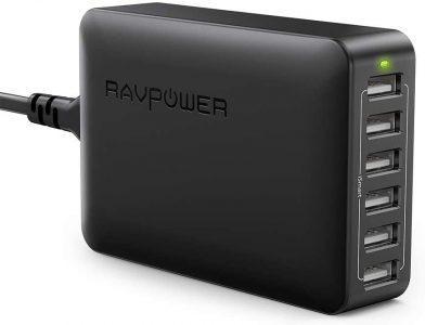 picture of RAVPower 6-Port Desktop USB Charging Station Sale