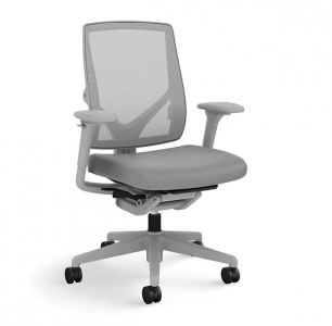 picture of ASAP Allsteel Relate Upholstered/Mesh Work Chair with Arms
