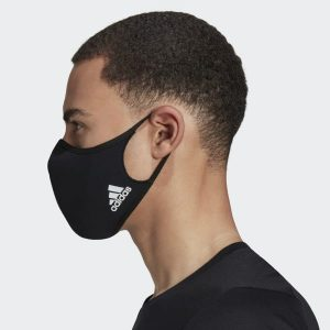 picture of adidas 3 pk Face Covers (Blue)