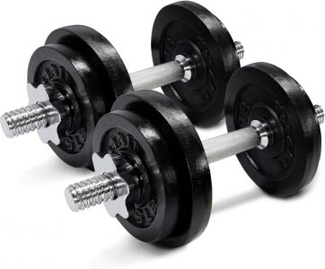 picture of Yes4All 60-Pound Adjustable Dumbbells Set Sale