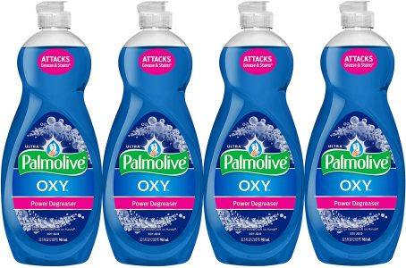 picture of Expiring Today: Palmolive 4-pk 32.5oz Ultra Dish Soap Oxy Power Degreaser Sale