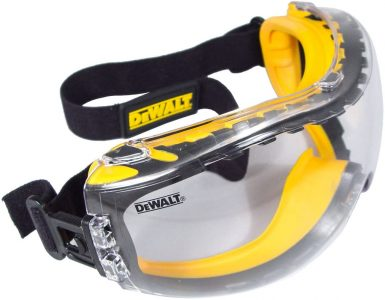 picture of Dewalt Clear Anti-Fog Dual Mold Safety Goggle Sale