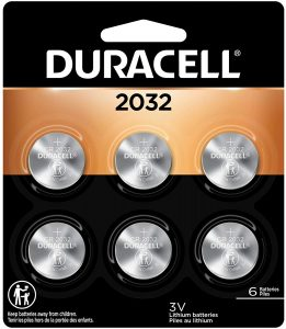 picture of Duracell - 2032 3V Lithium Coin Battery - long lasting battery - 6 count Sale