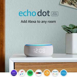 picture of Echo Dot 3rd Gen Smart Speaker with Clock and Alexa Sale
