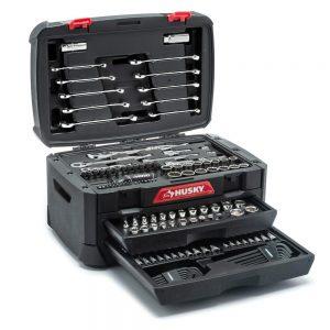 picture of Husky Mechanics 230-pc Tool Set in Storage Box