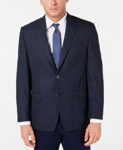 picture of Michael Kors Classic-Fit Plaid Men's Sport Coat Sale