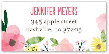 picture of tinyprints 120 Personalized Address Labels For Free