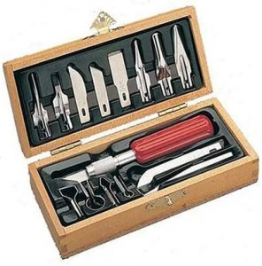 picture of Xacto X5175 Deluxe Woodcarving Set Sale