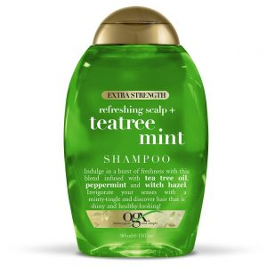 picture of 2x OGX Extra Strength Refreshing Scalp + Tea Tree Mint Shampoo, 13 Ounce Sale