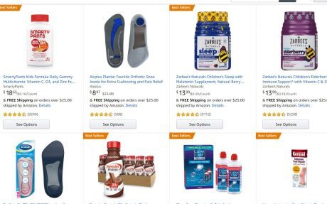 picture of Save $5 when you spend $20 in Health, Personal Care