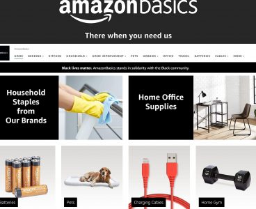picture of 10% off select AmazonBasics Items