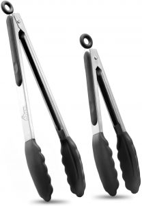 picture of Hotec Stainless Steel Locking Kitchen Tongs Sale