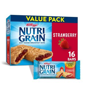picture of Kellogg's Nutri-Grain Soft Baked Strawberry Breakfast Bars Sale