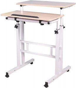 picture of Mind Reader Mobile Sit & Stand Workstation Desk Sale