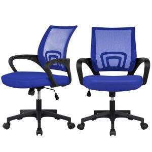 picture of Easyfashion Mesh Office Chair w/ Armrest, 2-Pack, Sale