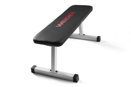 picture of Weider Strength Flat Weight Bench with Sewn Vinyl Seats Sale