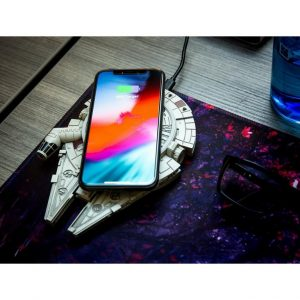 picture of Star Wars Millennium Falcon Wireless Charger with AC Adapter Sale