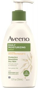 picture of Aveeno Daily Moisturizing Body Lotion with Broad Spectrum SPF 15 Sunscreen 12oz Sale