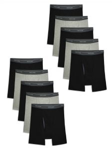 picture of Fruit of the Loom  Men's CoolZone Boxer Briefs, 10 Pack, Sale