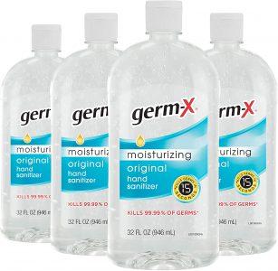 picture of Germ-X 32oz Hand Sanitizer 4-pk Sale