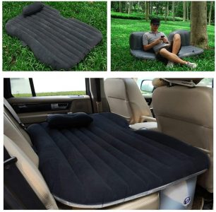 picture of CampBuddy Inflatable Car Mattress w/ Pump & 2x Pillows Sale