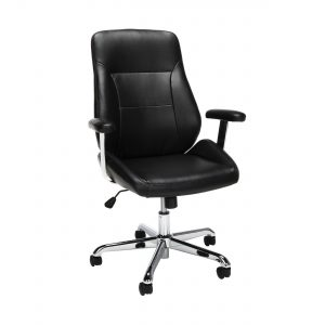 picture of Expiring Today: OFM Core Collection Office Chair, Mid Back Leather Task Chair, Sale