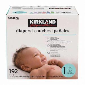picture of Costco Member: Kirkland Signature Diapers Sale
